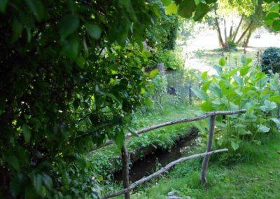 Espace vert Sous la Tonnelle à Uzeste