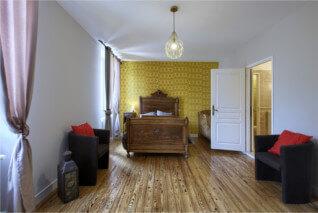 Chambre à Uzeste en Sud Gironde (proche villandraut, bazas, langon)